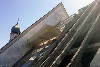 Dachverschalung